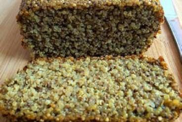 Almond Quinoa Chia Bread